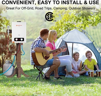 Tankless Water Heaters for RV